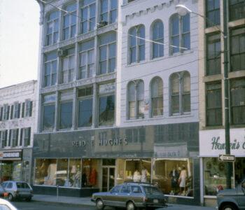 Reid & Hughes building in the 1980s.