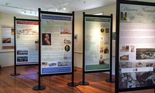 The Discover Norwich Exhibit_Interior of Visitors' Center