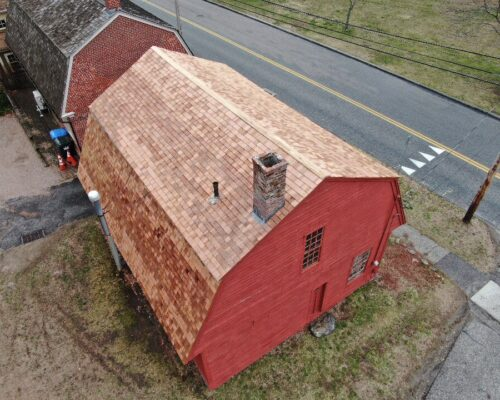 Carpenter Shop_New roof
